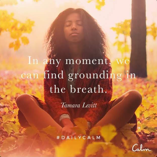 Calm Quote Breath