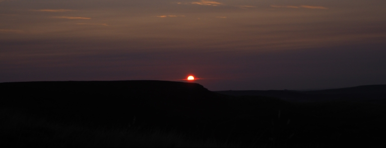 Sunrise at Grindslow Knoll